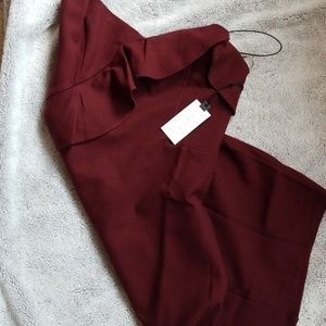 ASTR Burgundy Dress